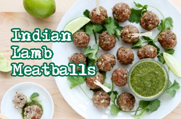 Indian Lamb Meatballs