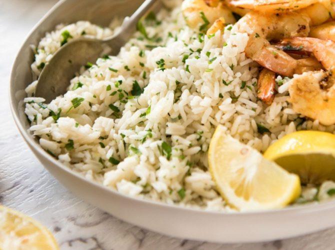 Ρύζι πιλάφι, λεμονάτο