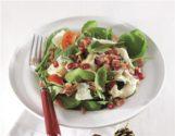 Σαλάτα με σπανάκι και βινεγκρέτ μελιού