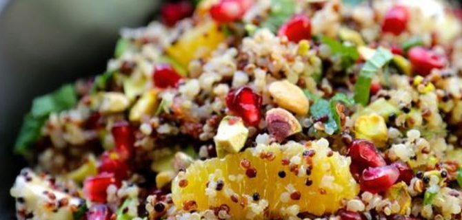 Γιορτινή σαλάτα με κινόα