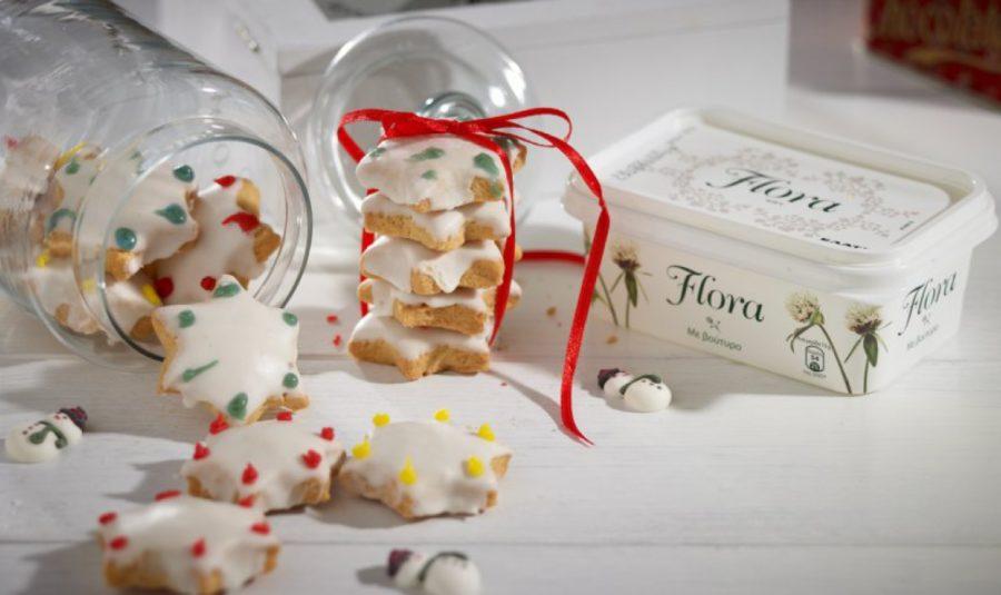 Μπισκότα με ζαχαρόπαστα