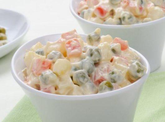 Εύκολη σπιτική ρώσικη σαλάτα